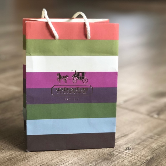 Coach Small Gift bag